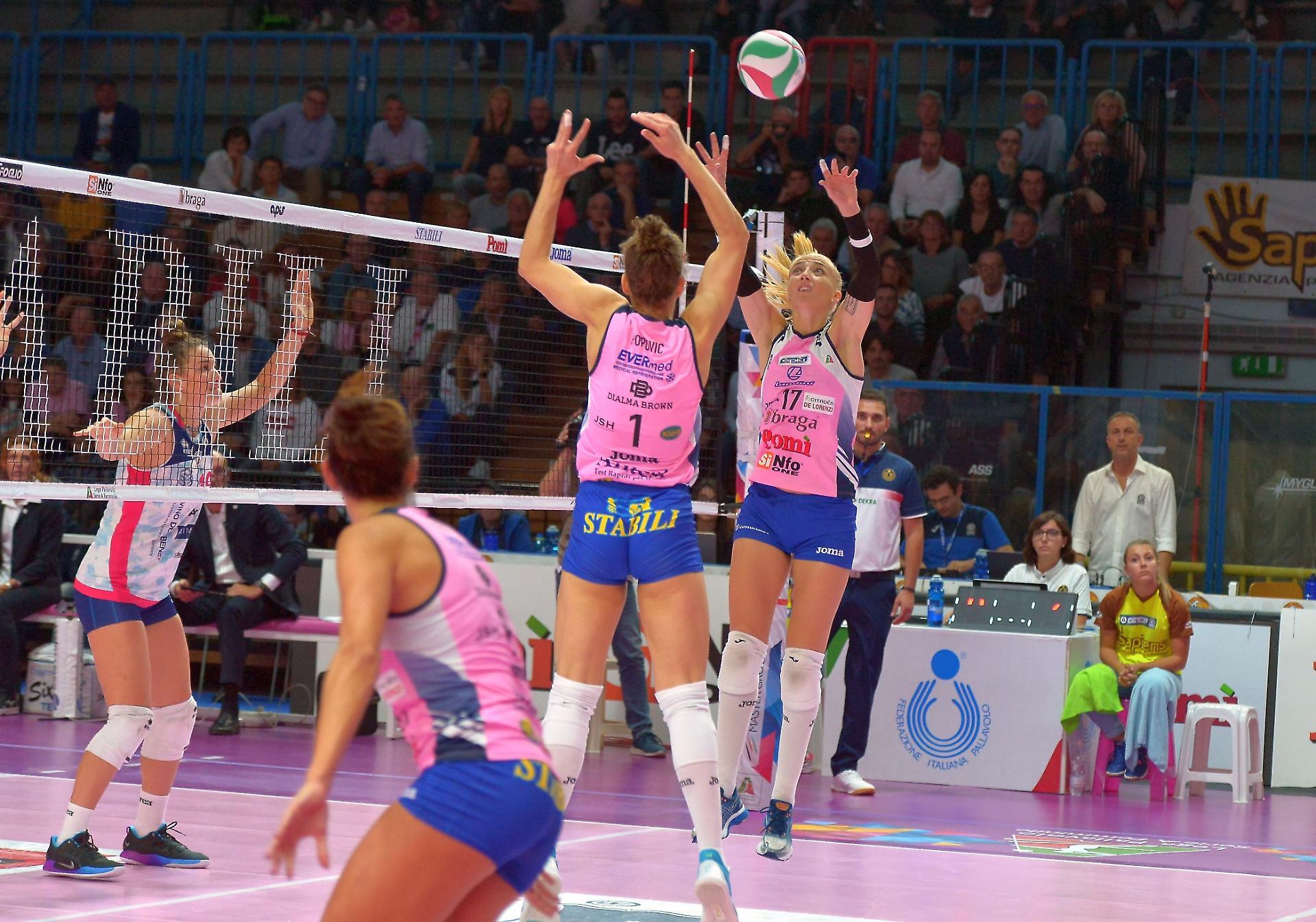 Volley Serie A Femminile, verso il recupero delle partite