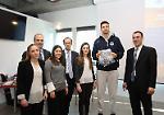 La presentazione del progetto 'Web Basket 2.0' al Cobox