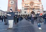 Le 'sentinelle' in piazza Duomo