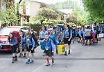Il raduno degli scout nel parco Baden Powell