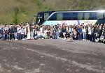 Giorno 1. Gli studenti cremonesi, cremaschi e casalaschi verso Aix en Provence