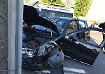 Le immagini dello scontro che ha coinvolto un'auto e una moto a Grontardo