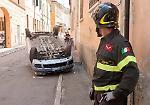 Le foto dell'incidente in via Milazzo a Cremona