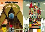 Le immagini di alcune delle opere della quinta edizione di Affiche