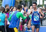 I partecipanti alla Maratonina nelle vie della città