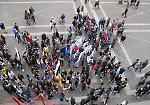 FOTO Vittime di mafia, il corteo di studenti a Cremona