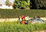 FOTO L'incidente sulla provinciale 90 a Rivolta d'Adda