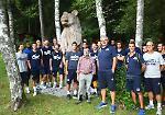 FOTO La Vanoli inizia la preparazione atletica a Carisolo