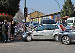 FOTO Secondo incidente in due giorni tra le vie Castelleone e Sant'Ambrogio