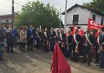 FOTO  Primi maggio: commemorazione dei morti del disastro ferroviario di Pioltello
