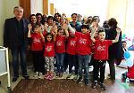FOTO Giornata mondiale per l'igiene delle mani:  oltre 120 bambini ospiti in ospedale