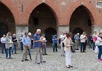 FOTO Sentinelle in piedi a Cremona