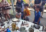 FOTO Via Ticino è 'La strada dei bambini'