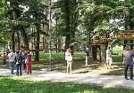 FOTO Il parco avventura alle Colonie Padane
