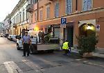 FOTO West Nile a Cremona, le operazioni di disinfestazione in via XX Settembre