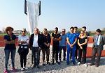 FOTO Inaugurata la pista di atletica a Ombriano