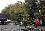 Le immagini del terribile incidente sulla via Mantova