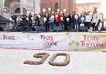 FOTO Festa del Torrone: maxi torta per i 90 anni della Rivoltini