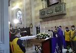 I funerali di Sandro Galli al Bosco ex Parmigiano