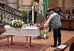 I funerali dell'11enne Marco Zani