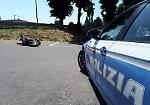 FOTO L'incidente tra moto e Apecar a Montodine