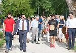 FOTO L'inaugurazione del Parco Asia al quartiere Zaist