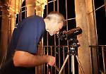 Sul Torrazzo per guardare luna e pianeti al telescopio