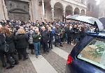 FOTO Il funerale della maestra Silvia Braga