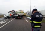 L'incidente stradale sulla Paullese