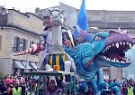 FOTO Le spettacolari immagini della prima sfilata del Gran Carnevale Cremasco