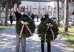 «Onore al Ras», saluto romano e polemiche