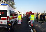 FOTO Le immagini dell'incidente in via Cremona a Crema