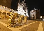 FOTO La prima notte di coprifuoco a Cremona