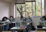 FOTO A lezione con La Provincia al Racchetti-Da Vinci di Crema