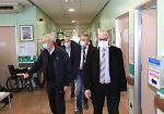 La visita di Guido Bertolaso in ospedale
