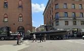 La Stradivari43 arriva nel cuore della città