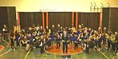 """La banda """"Giuseppe Anelli""""-Orchestra di fiati di Trigoloper il 45esimo dell'Avis"""