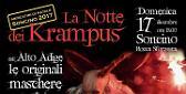 """""""La Notte dei Krampus"""": dall'Alto Adige le paurose maschere per le vie di Soncino"""
