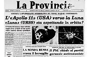 Le navicelle «Apollo 11» (USA) e «Luna» (URSS) 'insieme' alla conquista della Luna?