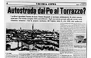 Un'autostrada dal Po al Torrazzo?