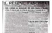 Mussolini ammonisce l'Europa contro il pericolo giapponese