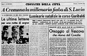 A Cremona la millenaria fiaba di S. Lucia