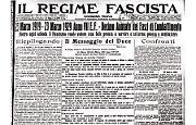 La celebrazione: ha 10 anni il movimento da cui sorse il Partito Fascista