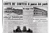 Corte de' Cortesi, il paese dei poeti
