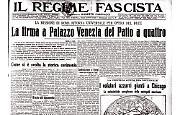 Patto a quattro di Mussolini: la firma a Roma