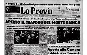 Inaugurato il traforo del Monte Bianco