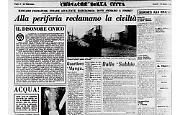 Alla periferia di Cremona reclamano la civiltà e ... l'acqua