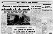 Come 44 anni fa: Genova si avvia lentamente alla normalità dopo l'alluvione