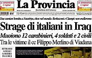 Diciotto italiani sono stati massacrati a Nassiriya