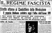 Il popolo Italiano celebra oggi l'alba dell'Anno XVI